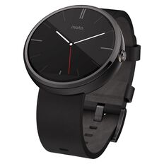 Moto 360 Smartwatch Black Black