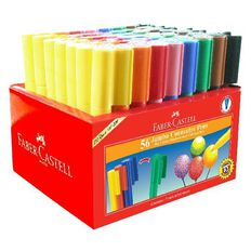 Faber-Castell 56 Jumbo Connector Pens Caddie
