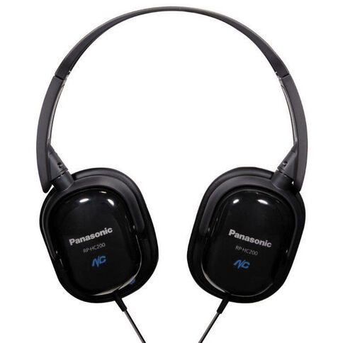 Panasonic Noise Cancelling Headphones Black