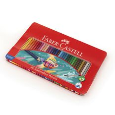 Faber-Castell Assorted Classic Colour Pencils in Tin 36 Piece
