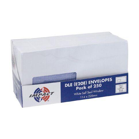 Impact Envelope E20E Window Seal 250 Pack White