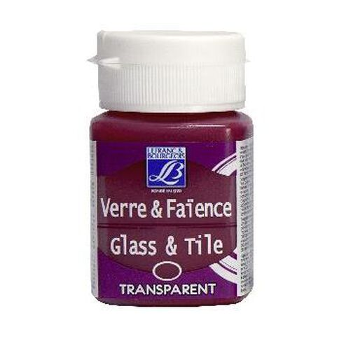 L&B Glass Tile 50Ml 412 Flam Red