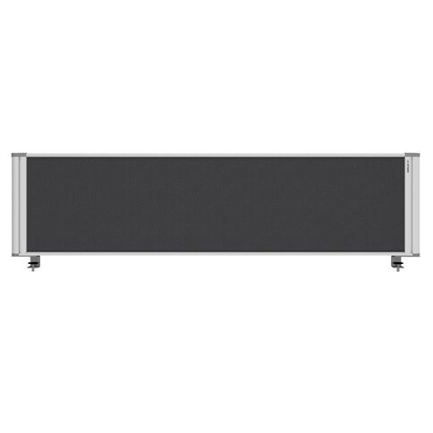 Boyd Visuals Desk Mounted Partition 1760W Grey