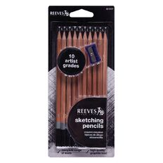 Reeves Sketch Pencil Set 10 Piece