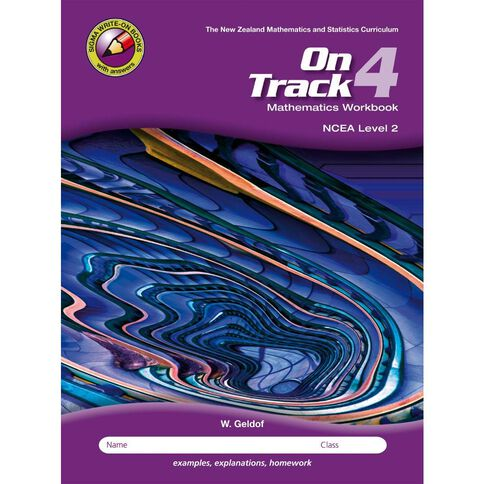Ncea Year 12 Mathematics On Track Workbook 4