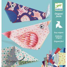 Djeco Origami Easy Multi-Coloured