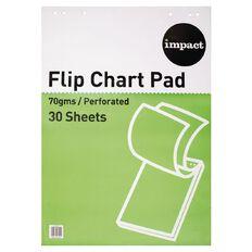 Impact Flip Chart A1 30 Sheet 70Gsm White