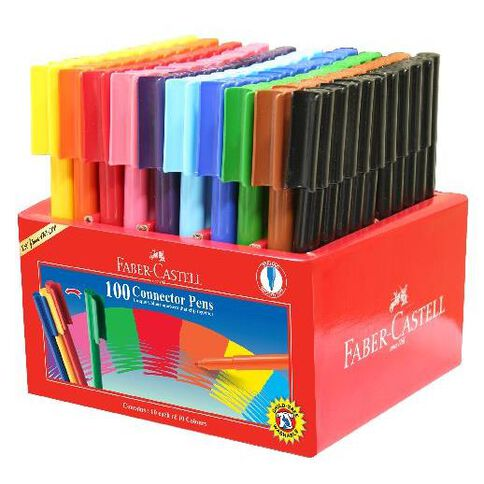 Faber-Castell Caddie 100 Connector Pens