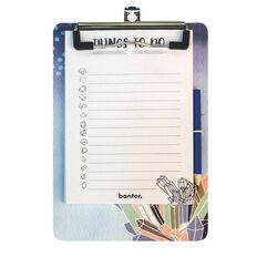 Banter Magnetic Clipboard Pad & Pencil A5