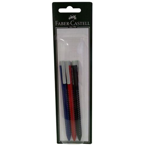 Faber-Castell Grip Ball Pen 3 Pack