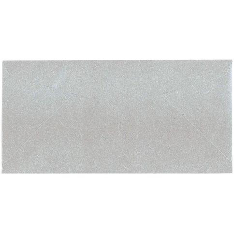 Metallique Envelopes C6 25 Pack Silver Silver