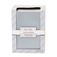 Grace Taylor Create a Card Metallic 50 Pack Assorted