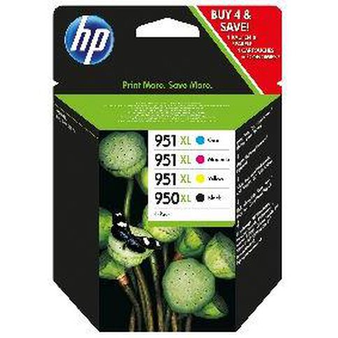 HP Ink Cartridge 950XL/951XL Combo Pack Multi-Coloured