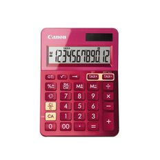 Canon Calculator Ls-123K Desktop Pink
