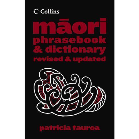 Collins Maori Phrase Book & Dictionary