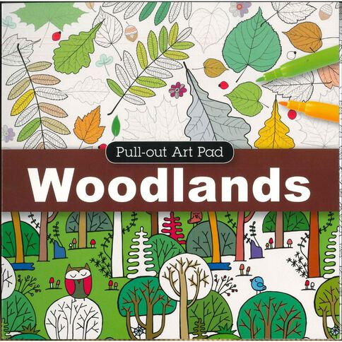 Pull Out Pad Woodlands