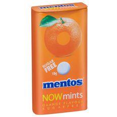 Mentos Now Mints Orange Multi-Coloured