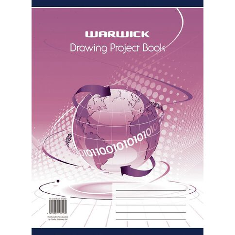 Warwick Project Book Drawing Spiral Red
