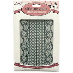 Ultimate Crafts Magnolia Lane Embossing Folder 5X7 Magnolia Lace Multi-C