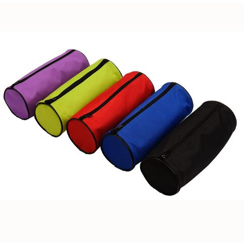 Pencil Case Tube Assorted Multi-Coloured