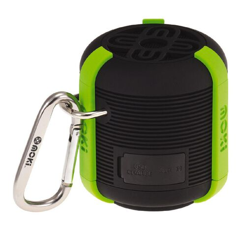 Moki AquaBass Waterproof Bluetooth Speaker Black