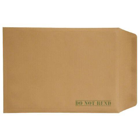 Envelope Board Backed Single Brown A3