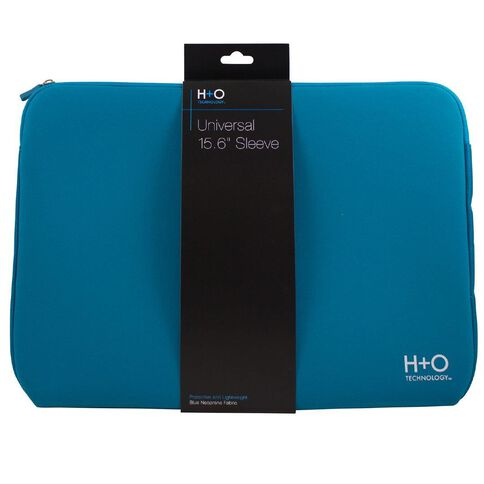 H+O Technology 15.6 inch Laptop Sleeve Blue