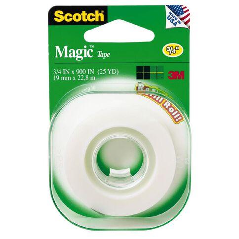 Scotch Magic Tape Refill Roll 19mm x 22.8m Clear