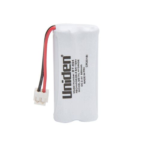 Uniden Cordless Phone Battery BT694 White