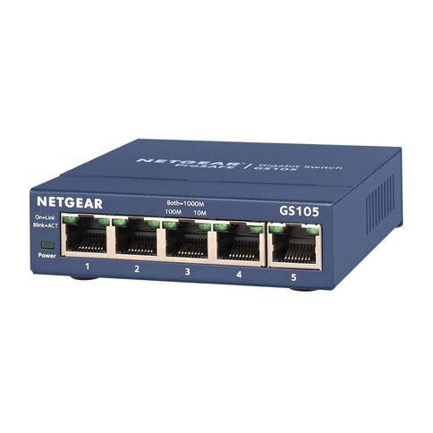 Netgear GS105 ProSafe 5-port Gigabit Switch