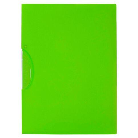 Impact Swing Clip File Green A4