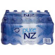 Pure NZ Spring Water 600ml 24 Pack Blue