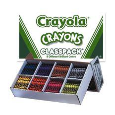 Crayola Crayon Classpack X400