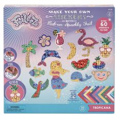 My Studio Girl Foileez Large Sticker Pack Tropicana