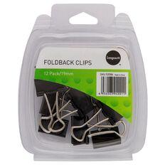 Impact Foldback Clips 19mm 12 Pack