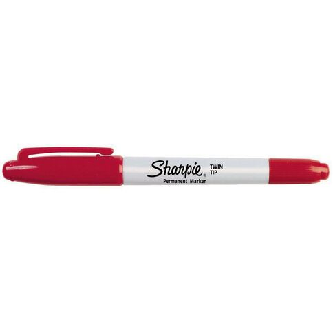 Sharpie Twin Tip Red