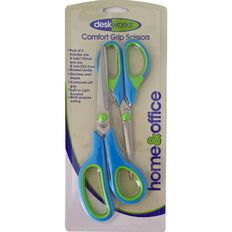 Deskworks Scissors Comfort Grip 8/6 Green