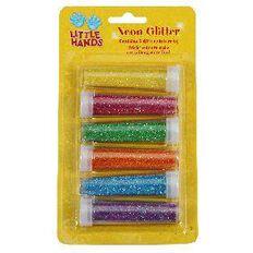 Little Hands Chunky Glitter 7g 6 Pack