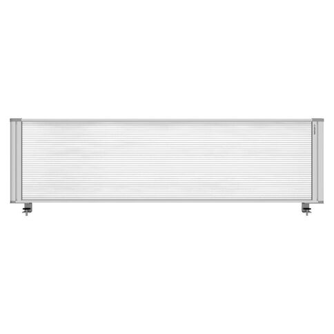 Boyd Visuals Desk Mounted Partition 1760W Polycarbonate