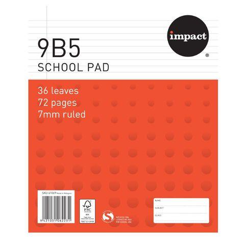 Impact Pad Refill 9B5 7mm Ruled 36 Leaf