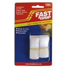 Holdfast Fastgrip Strip 20mm Hooks & Loops White