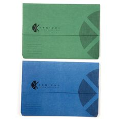 Eastlight Karnival Slimpick Wallet Assorted Colours Blue