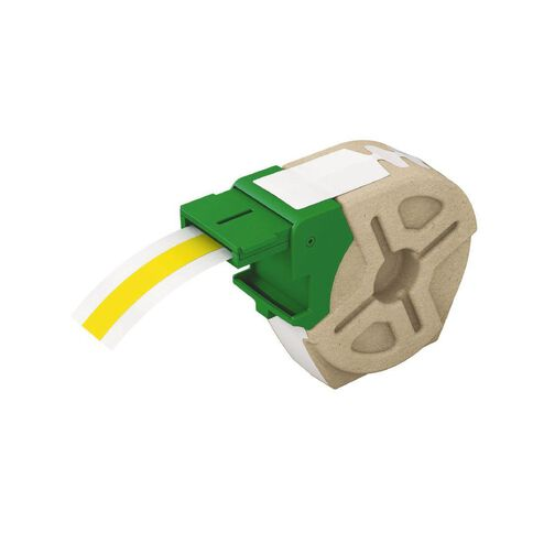Leitz Icon Label Cartridge Continuous Plastic 12mm x 10m Yellow