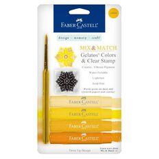 Faber Castell Mix And Match Gelatos - Yellow