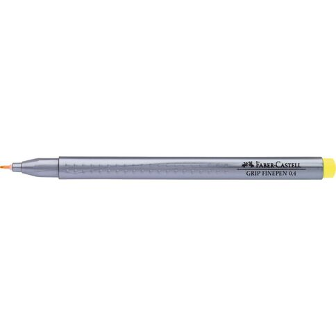 Faber-Castell Grip Finepen 0.4mm Cadmium Yellow