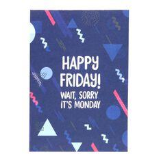 Banter Happy Friday Notepad A5