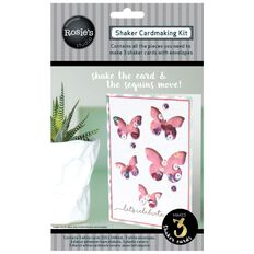 Rosie's Studio Shaker Card Kit Butterflies