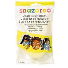 Snazaroo Snazaroo Face Painting Sponges 2 Pack Multi-Coloured