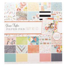 Grace Taylor Paper Pad 12 x 12 Away We Go