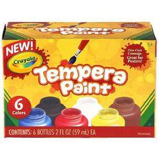 Crayola Tempera Paint 6 Pack